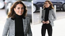 Duchess of Cambridge wears low key outfit for engagement in Essex