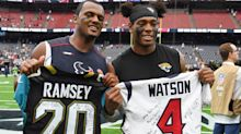 """Jalen Ramsey: Deshaun Watson is """"extremely serious"""" about not playing for Texans again"""
