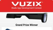 Vuzix Announces Blade App Development Contest Results