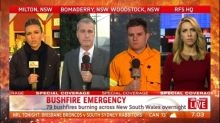 Dry weather and gusty winds threatening bushfire blazes