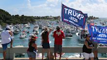'Trump's never going to leave Mar-a-Lago - he'll go back to being a businessman': President's neighbours reflect on prospect of life after White House