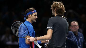Federer unimpressed with Zverev boos