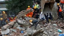 Death toll in Mumbai building collapse rises to 17 as rescuers search rubble