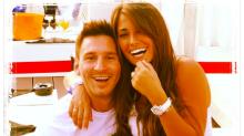 El romance de Leo Messi y Antonela a horas de su boda