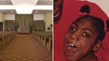 Woman, 20, found alive at funeral home dies in hospital