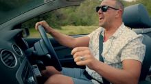 Paddy McGuinness crashes on Top Gear AGAIN!