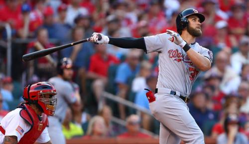 MLB: Roundup: Harper und Scherzer knacken Cardinals