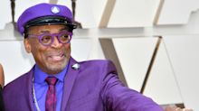 Spike Lee Rocks Head-To-Toe Purple For Prince Tribute On Oscars Red Carpet