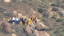 Dog Rescues Hiker Trapped Under Rocks for 4 Days