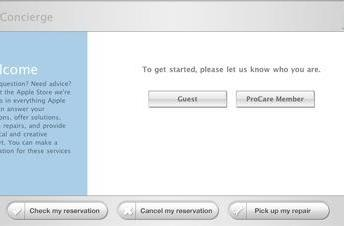 Apple Store Concierge on your own Mac