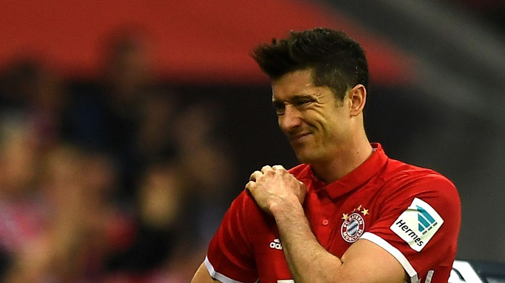 Bayern, Lewandowski jouera le match retour face au Real