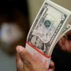 Dollar on the defensive with Fed's Powell likely to sound dovish note
