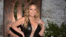 La ropa reveladora de Mariah Carey