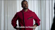Bruno Gagliasso faz teste para 'La Casa de Papel' e cita 'Surubão de Noronha'