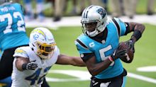 Panthers edge Chargers, grab first win of the season