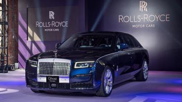 全新 Rolls-Royce Ghost 1,935 萬起登台,全車系價格同步公開