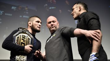 Ferguson: Khabib should be stripped of his title