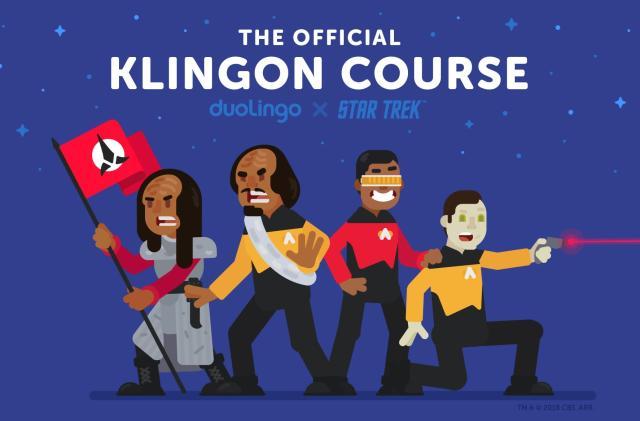 Duolingo's Klingon course has finally arrived