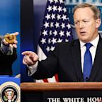 "Sean Spicer Says Melissa McCarthy 'Saturday Night Live' Parody ""Funny""; Sean Hannity Reminds Him It's Not"