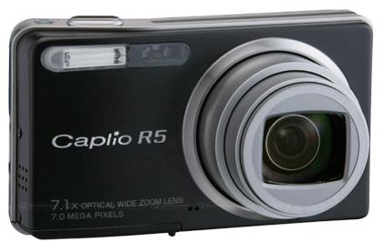 Ricoh launches Caplio R5 compact with 7x wide-angle zoom