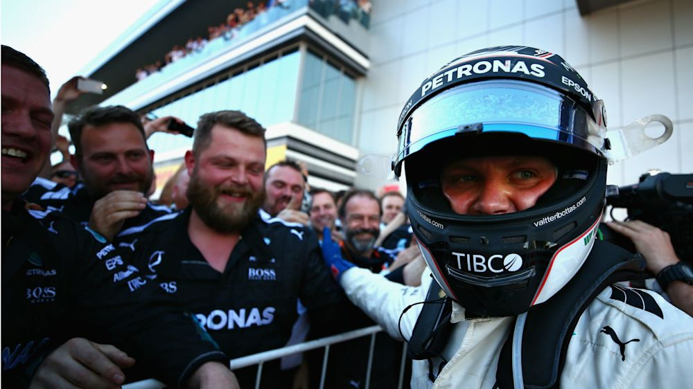 Bottas' 'life is easier' after Sochi success - Lauda