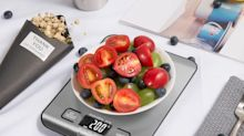 Amazon's running a one-day sale on this $10 kitchen scale with more than 22,000 reviews