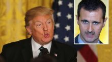 President Assad on brink of mass murder of children, warns Trump