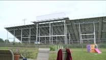 New bleachers causing controversy in the suburbs