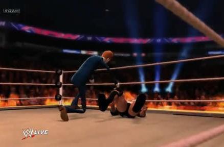 Conan cooks The Rock in WWE 2K14