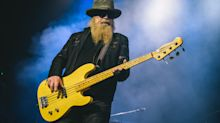 Dusty Hill, ZZ Top bassist, dies aged 72 after leaving tour
