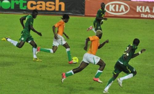 Costa de Marfil contra Senegal en Abiyán
