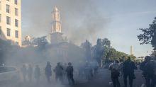 AP FACT CHECK: Trump denies tear gas use despite evidence