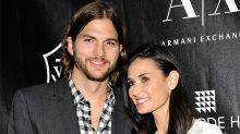 Ashton Kutcher no comió durante una semana tras su divorcio de Demi Moore