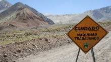 Pipe rupture being repaired at Barrick mine in Argentina