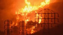 Report: Power lines sparked massive Southern California fire