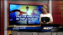 Pastor arrested in connection with pawn shop slayings