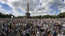 Berlin police break up 'anti-Corona' protests