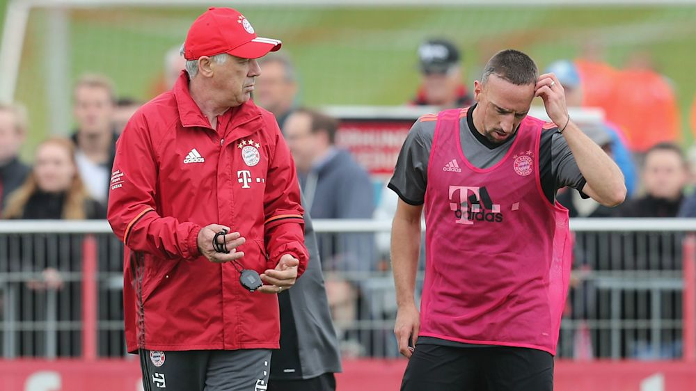 """Franck Ribery: """"Ancelotti weiß, dass ich Pausen brauche"""""""