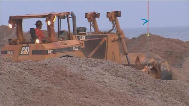 Parts of Rockaway Beach closed to sand replenishment