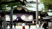 Japanese minister visits controversial war shrine