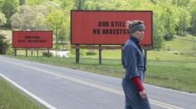 Street artist apes Three Billboards in taking on Hollywood sex scandal
