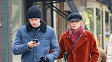 Taylor Swift & Joe Alwyn Walk Arm-In-Arm Before Having Lunch with the Actor's Family in N.Y.C.