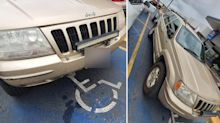 Driver slammed for 'selfish' act in disability parking space
