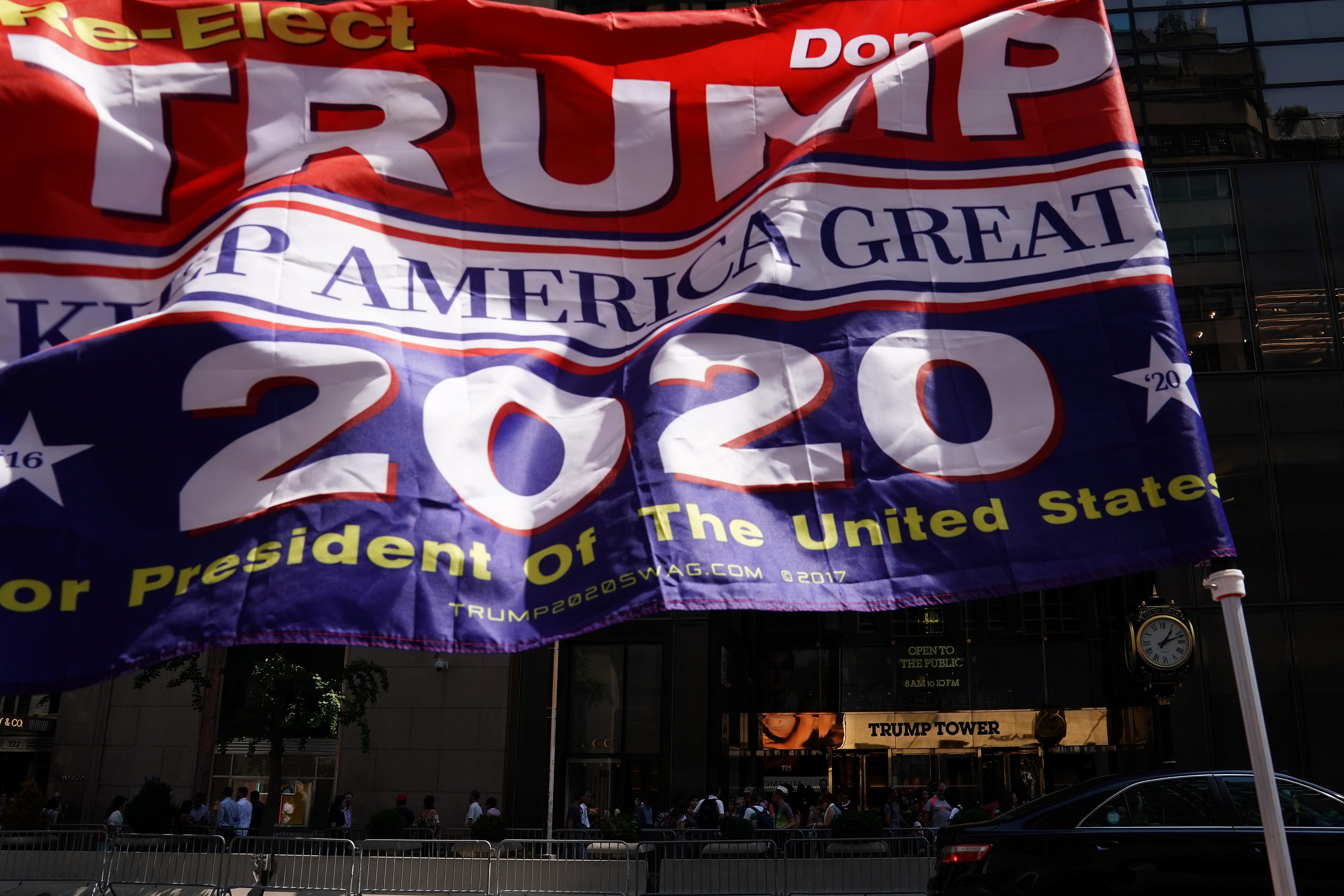 Vendors selling Trump, Confederate flags at community market spark