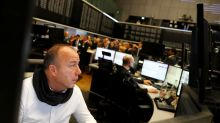 Stocks scale fresh record high, crude oil gains