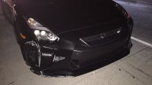 Kind-hearted supercar owner sees his GT-R stolen and crashed