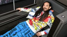 DJ Steve Aoki has taken more than 300 flights this year – here's how he falls asleep on planes