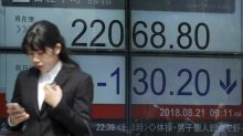 Global shares mostly gain, focus on China-US talks, Fed