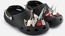 Crocs get a $118 punk-rock makeover: Would you try the high-fashion take on the often-mocked trend?