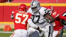 Trent Brown returns to Raiders' practice; status for Week 8 unclear